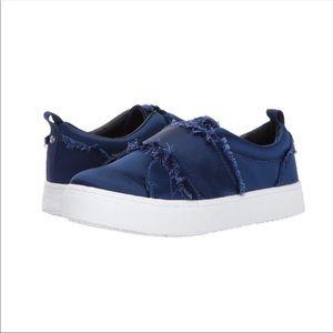 Sam Edelman Womens Levine Blue Slip-on flats 7.5